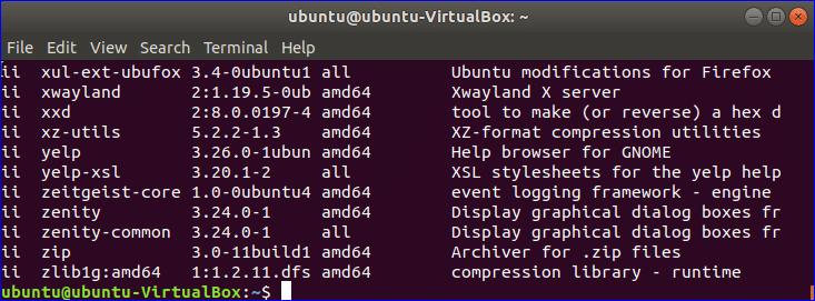 Find Package Name of Installed Ubuntu Package – Linux Hint