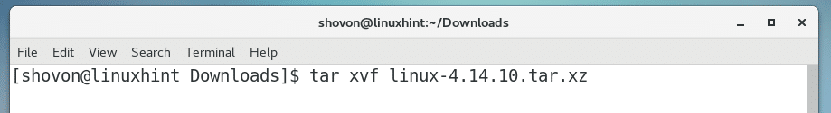 Compile Linux Kernel on CentOS7 – Linux Hint