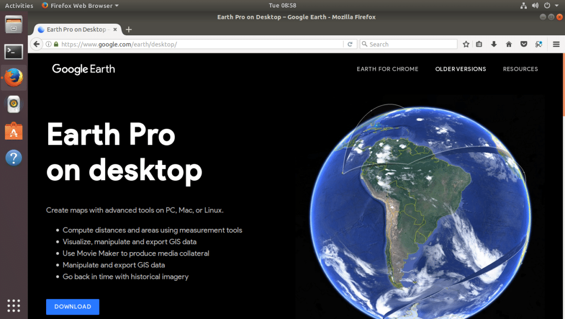Install Google Earth on Ubuntu – Linux Hint