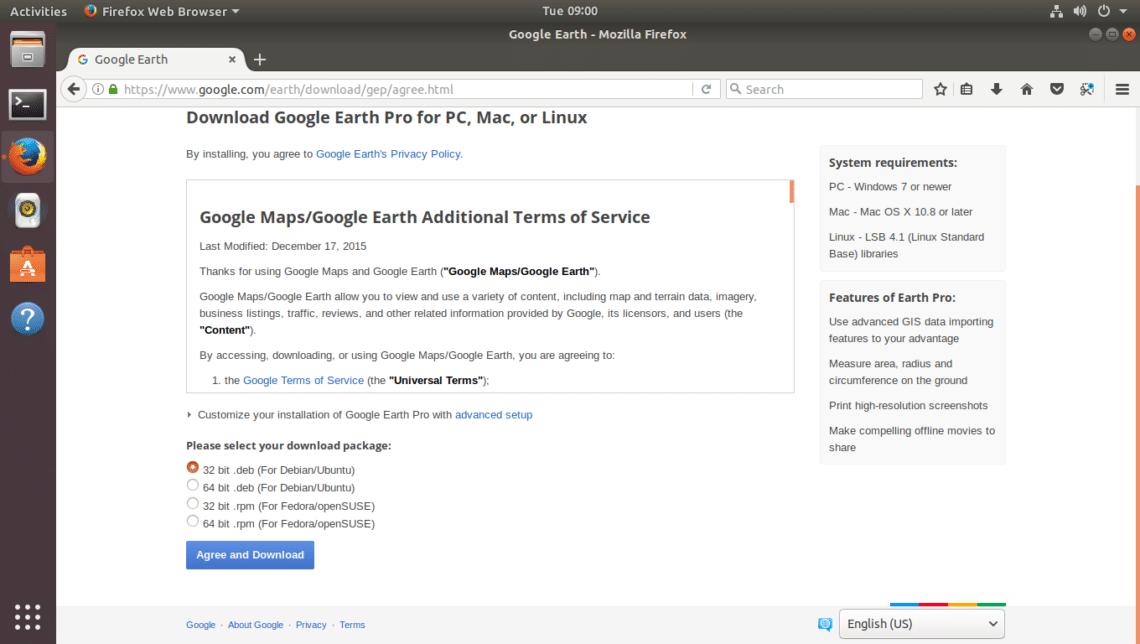 google earth pro para windows 7 64 bits