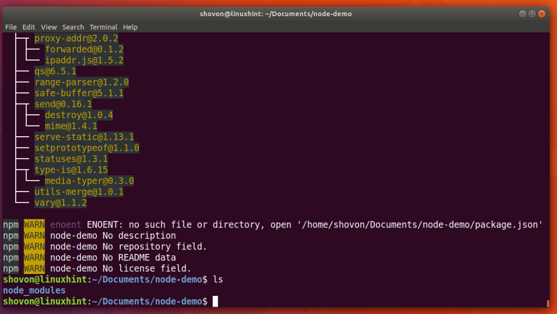 Install NPM NodeJS Package Manager on Ubuntu – Linux Hint