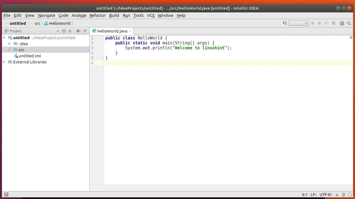 Install IntelliJ Community Edition on Ubuntu 17 – Linux Hint