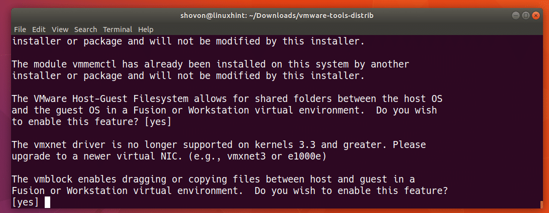 Install VMWare Tools on Ubuntu – Linux Hint