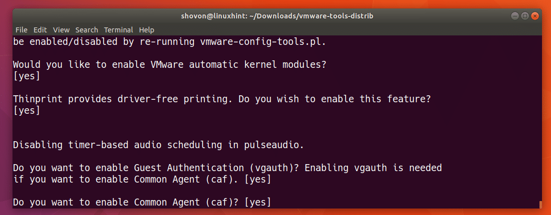Install VMWare Tools on Ubuntu – Linux Hint