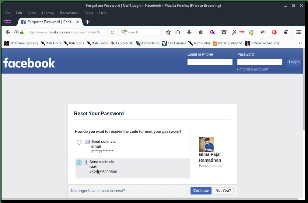 Hack Facebook using Social Engineering – Linux Hint