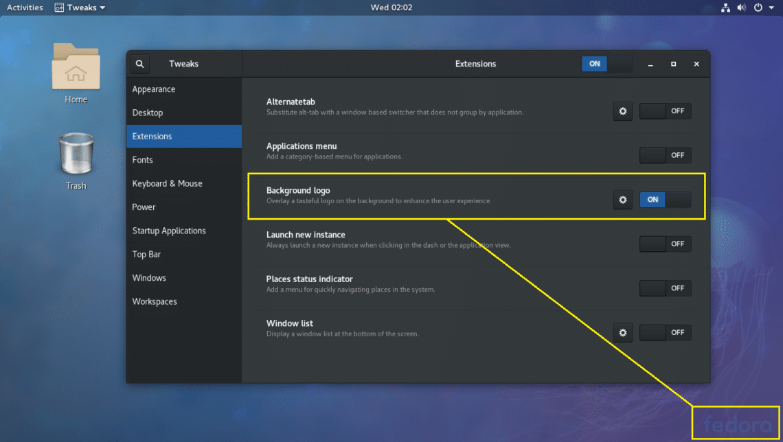 Install Gnome Tweak Tool on Fedora 27 – Linux Hint