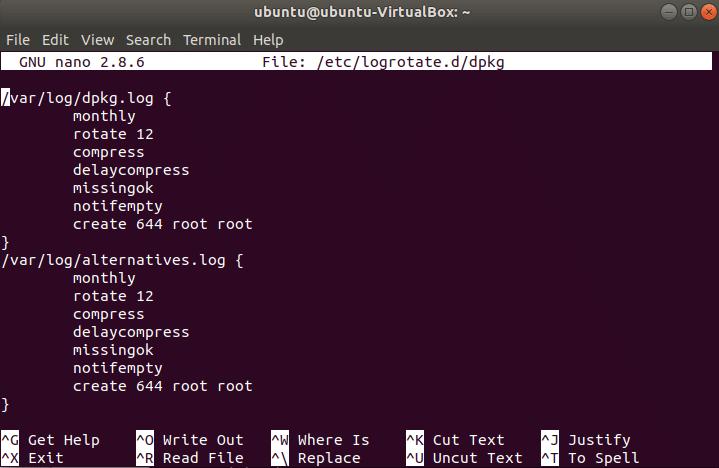 Logrotate Ubuntu Tutorial – Linux Hint