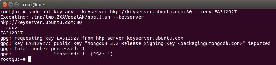 install mongodb as a service ubuntu