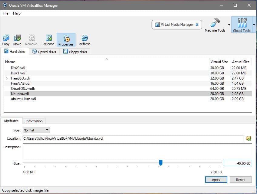 Increase VirtualBox Disk Size – Linux Hint