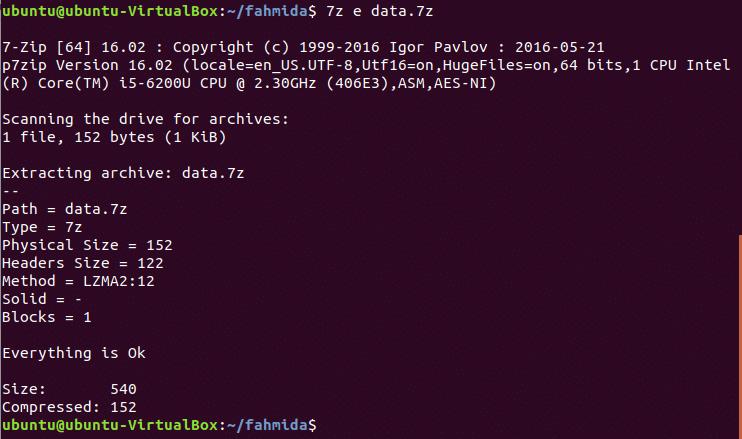 Install 7Zip Compression Tool on Ubuntu – Linux Hint