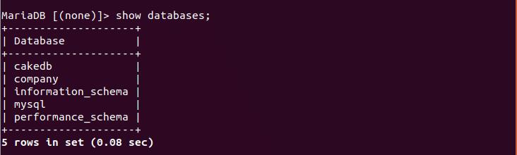MariaDB Dump Tutorial – Linux Hint