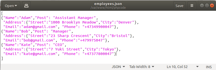 How to Parse JSON in PHP – Linux Hint