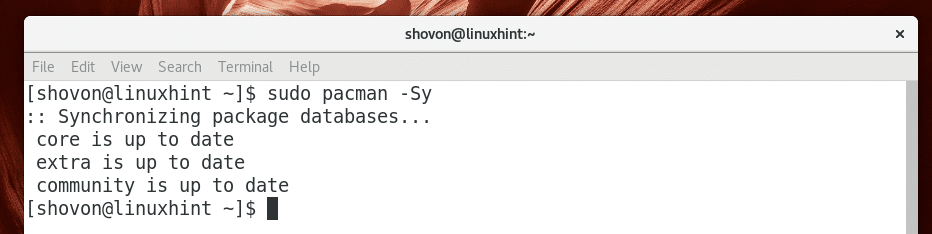 Install PostgreSQL 10 on Arch Linux – Linux Hint