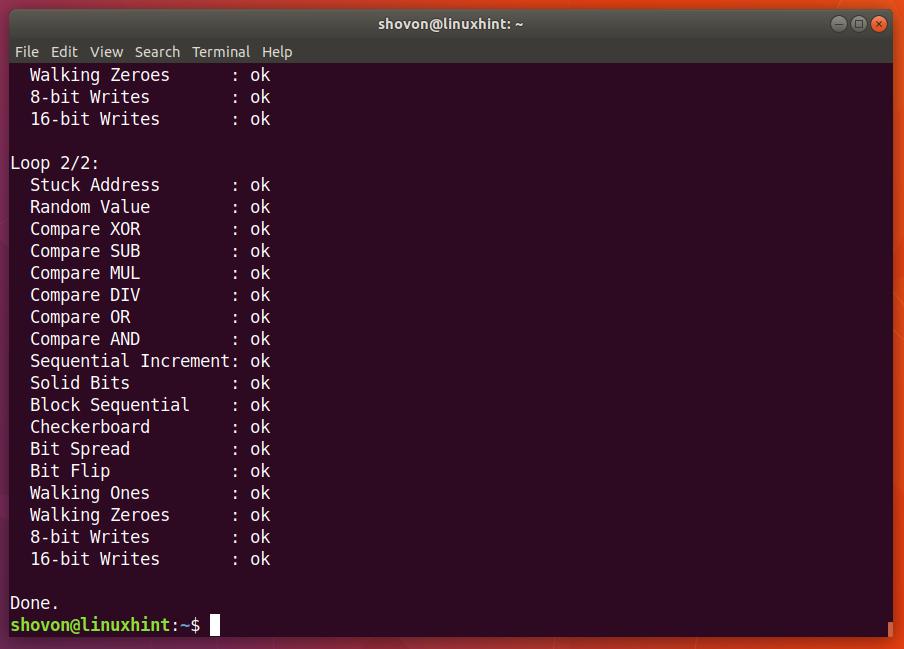 check cpu errors linux