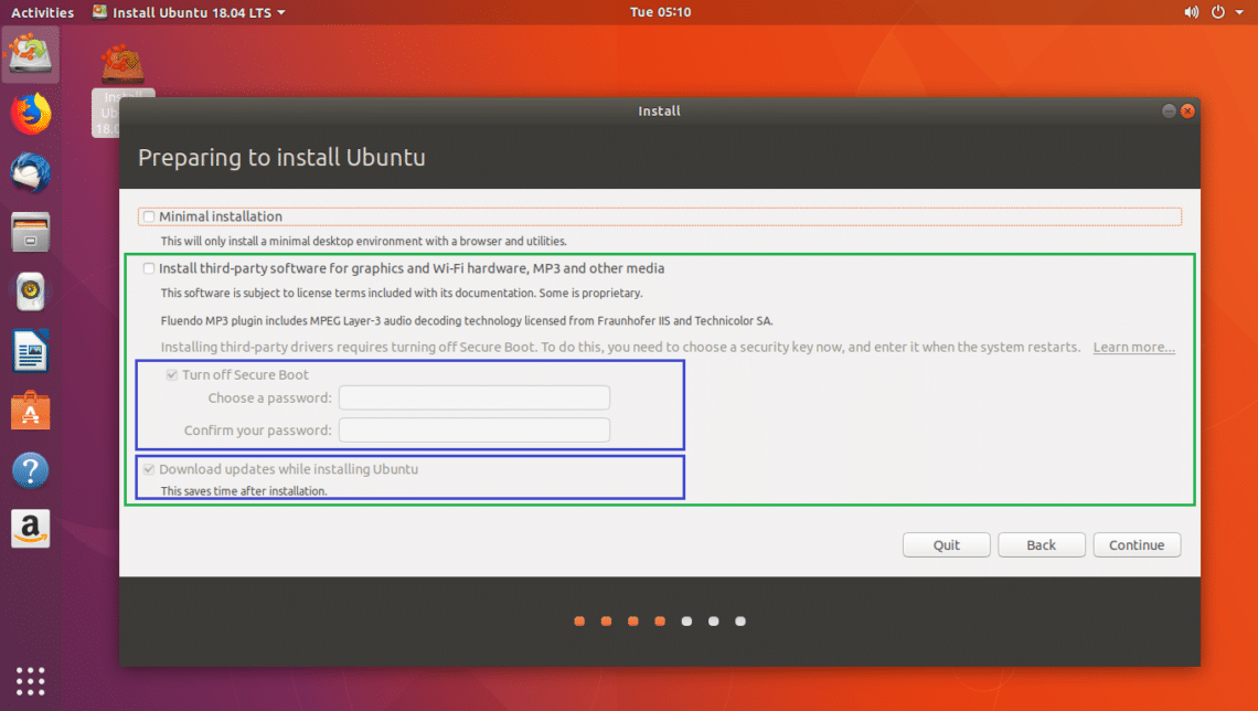 install gnome ubuntu 18 04
