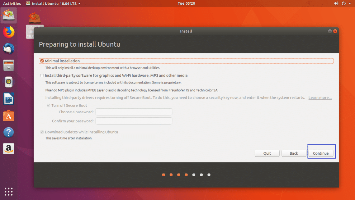 Ubuntu 18 04 LTS Minimal Install Guide – Linux Hint
