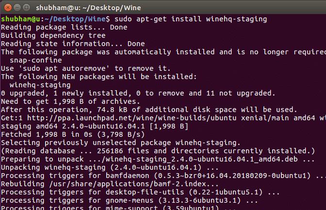 How To Install Wine 2 6 on Ubuntu – Linux Hint