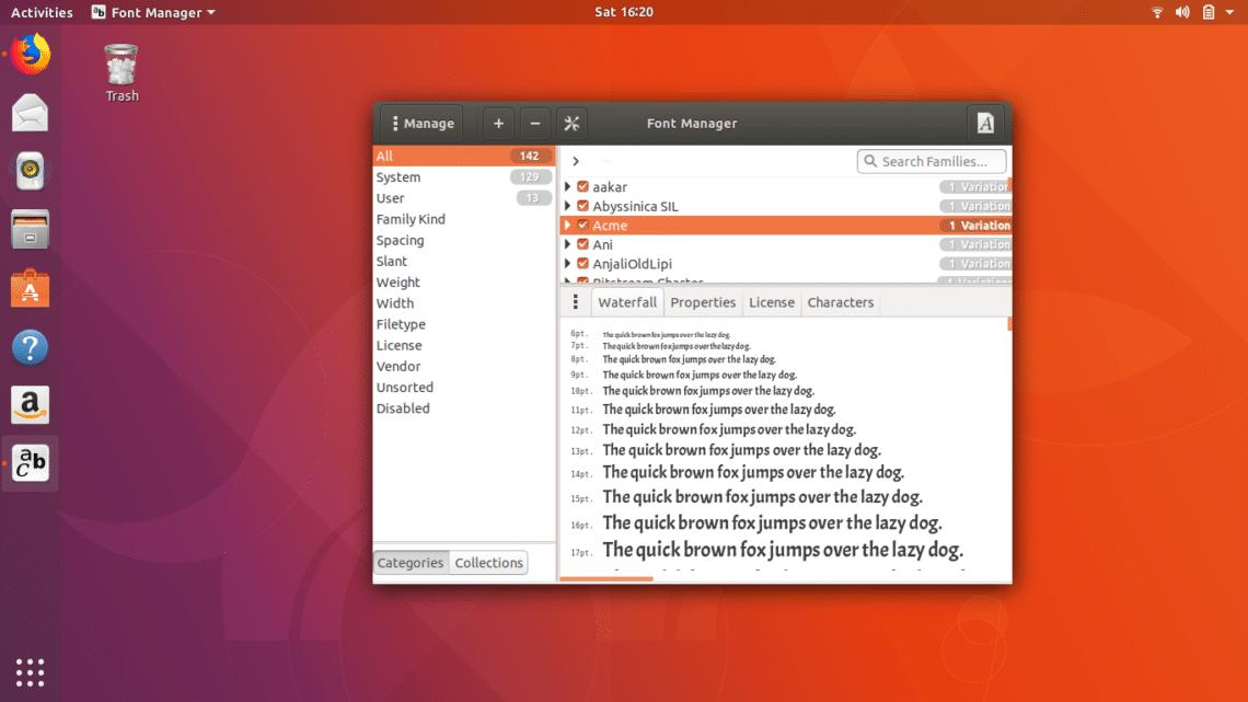 Best 20 Fonts for Ubuntu – Linux Hint