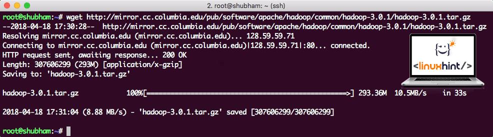 Downloading Hadoop