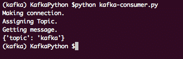 Getting started with Apache Kafka and Python – Linux Hint