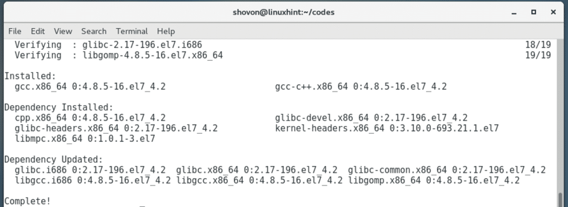 How to Install LLVM on CentOS7 – Linux Hint