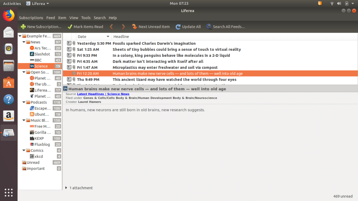 10 Best RSS Readers for Ubuntu – Linux Hint