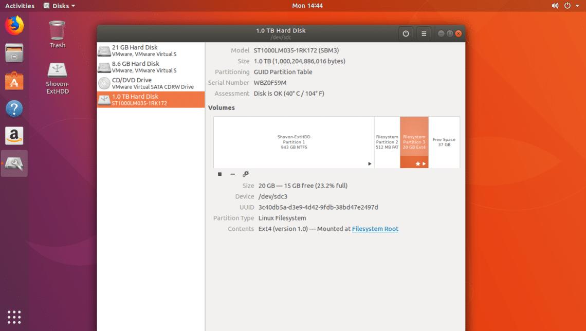 lieknas ubuntu