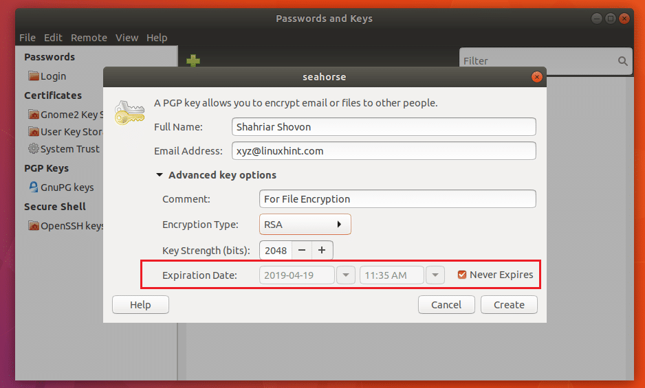 How to Install Seahorse Encryption on Ubuntu – Linux Hint