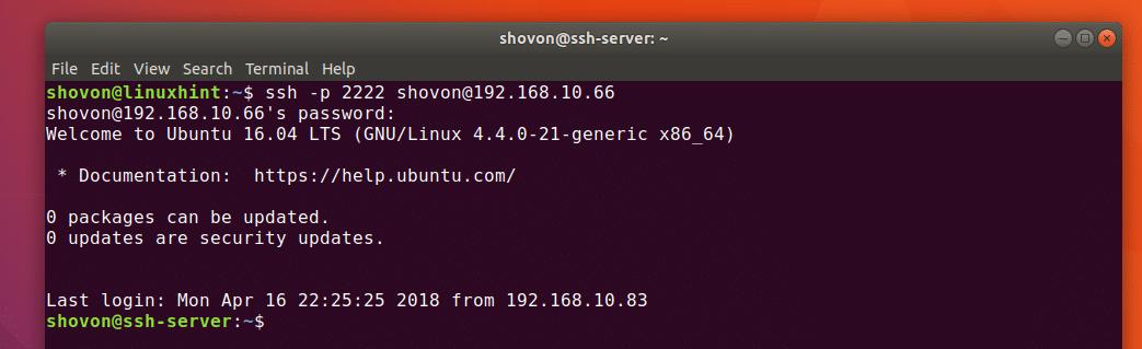 Common SSH Configuration Options Ubuntu – Linux Hint