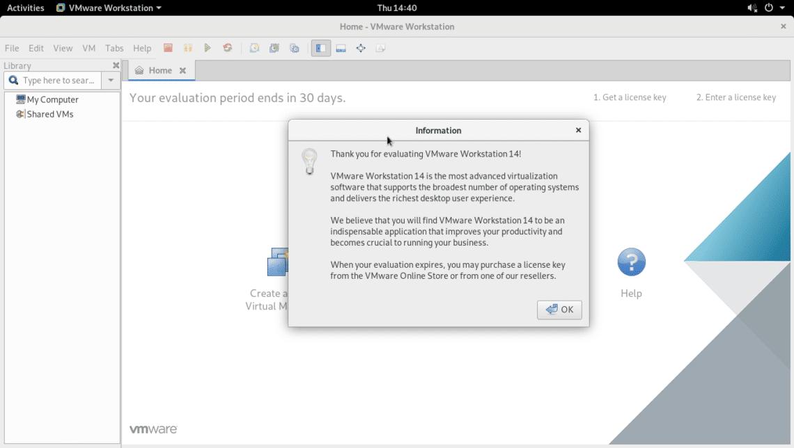 serial key vmware workstation 14 pro