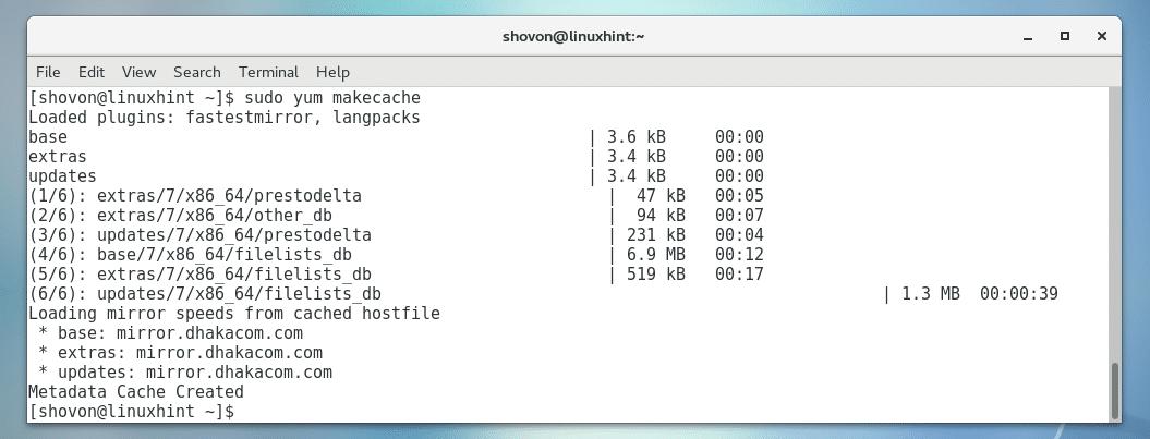 Install Git on CentOS 7 5 – Linux Hint