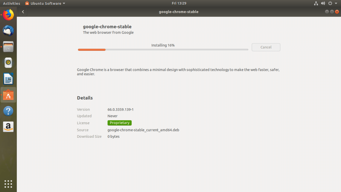 download chrome offline installer for ubuntu