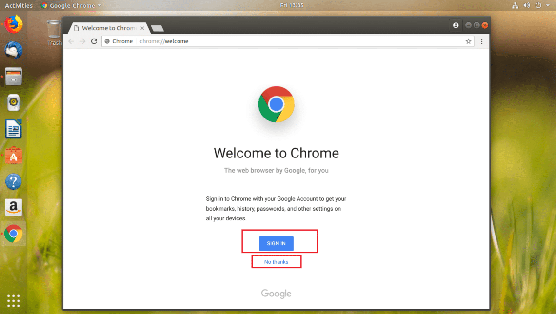 Install Google Chrome on Ubuntu 18.04 LTS