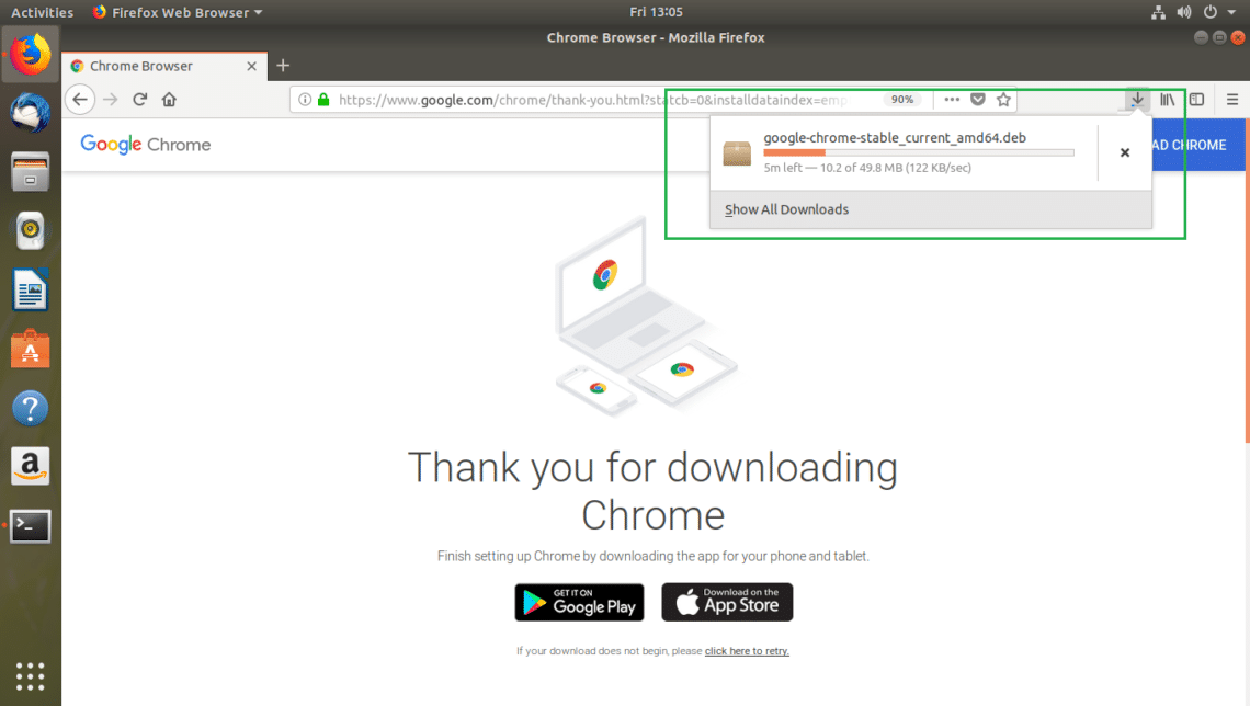 Install Google Chrome on Ubuntu 18 04 LTS – Linux Hint