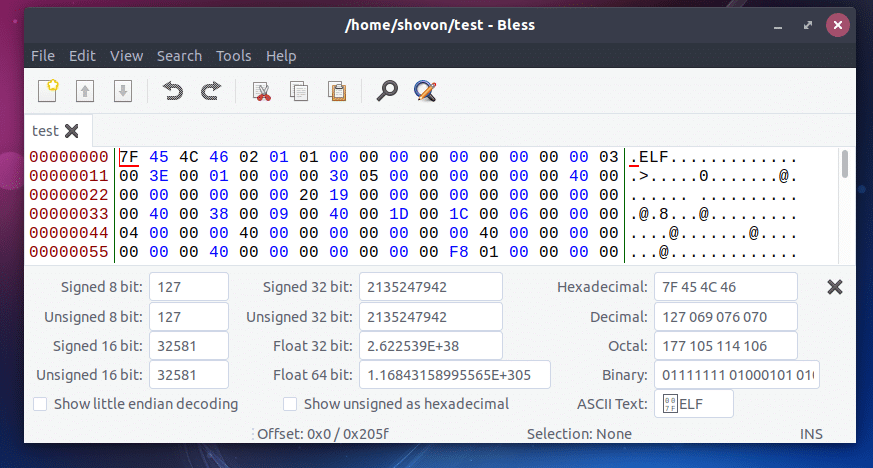 Hex Editors on Linux – Linux Hint