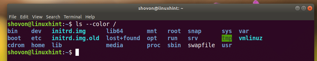 How to Change Colors on LS in Bash – Linux Hint