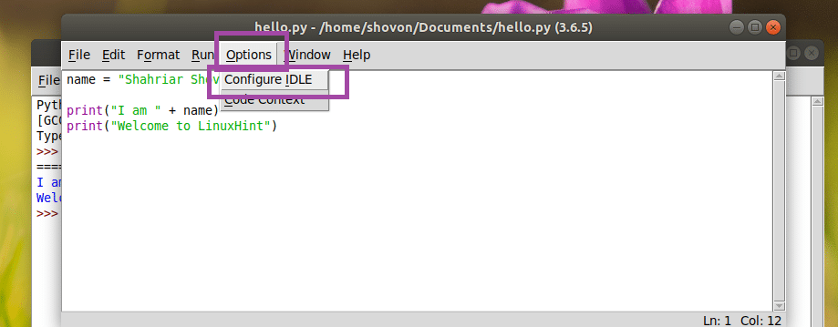 Install Python3 and IDLE on Ubuntu 18 04 – Linux Hint