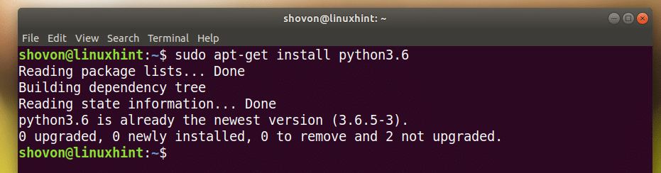 Install Python3 and IDLE on Ubuntu 18 04 – Linux Hint