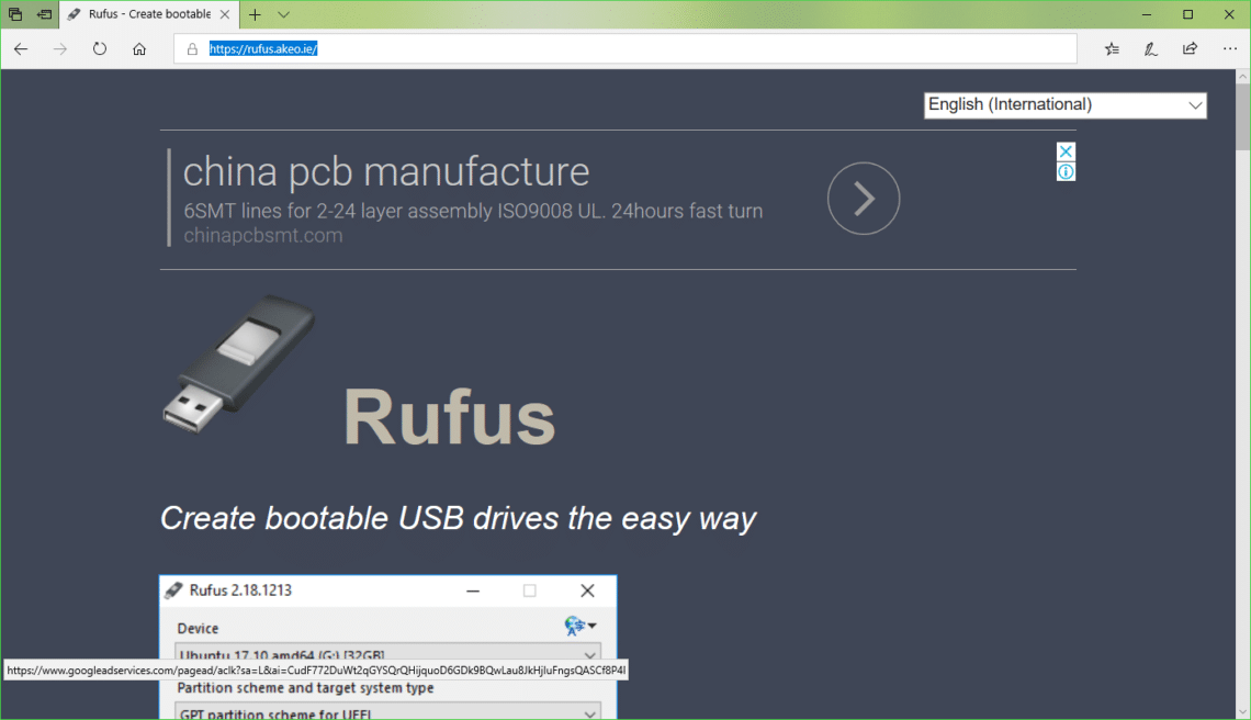 Rufus Bootable USB to Install Ubuntu 18 04 LTS – Linux Hint