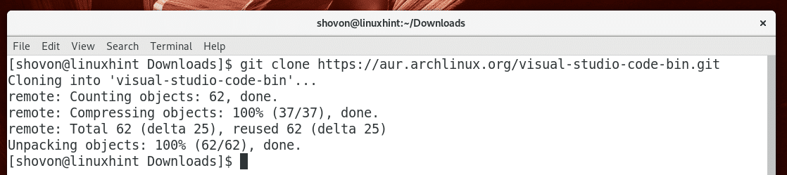 Install Visual Studio Code Arch Linux – Linux Hint