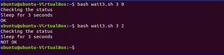 Wait Command in Linux – Linux Hint