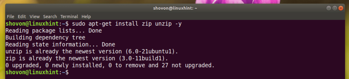 How to Zip a Folder in Linux – Linux Hint
