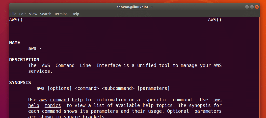 Install AWS Command Line Interface (CLI) on Ubuntu 18 04 LTS – Linux
