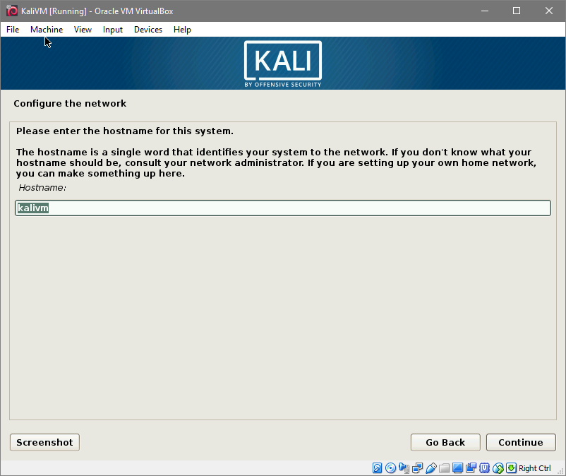 Install Kali Linux on VirtualBox – Linux Hint