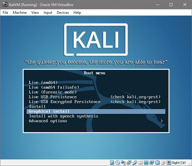Install Kali Linux on VirtualBox – Linux Hint