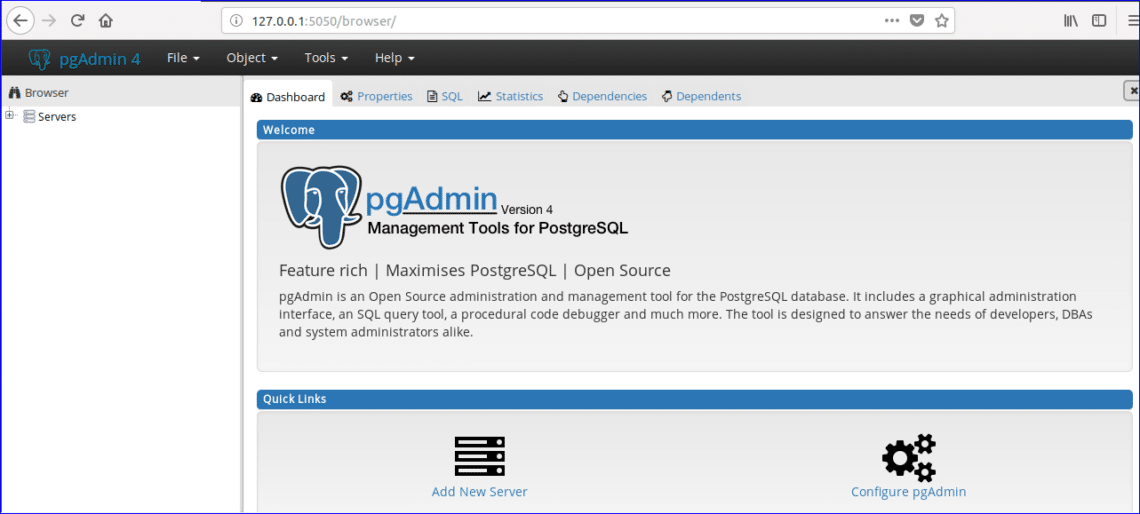 PGAdmin4 Tutorial Beginners – Linux Hint