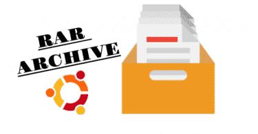 extract rar files ubuntu