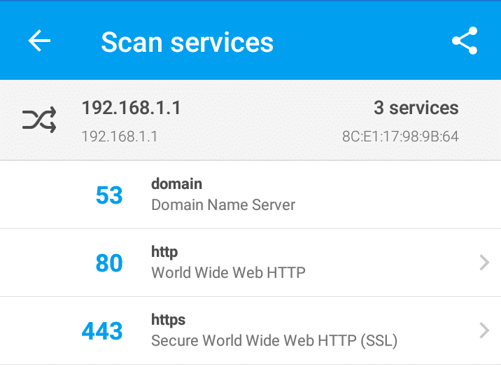 Fing scan services
