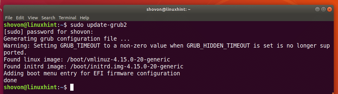 How to Use GRUB Rescue on Ubuntu 18 04 LTS – Linux Hint