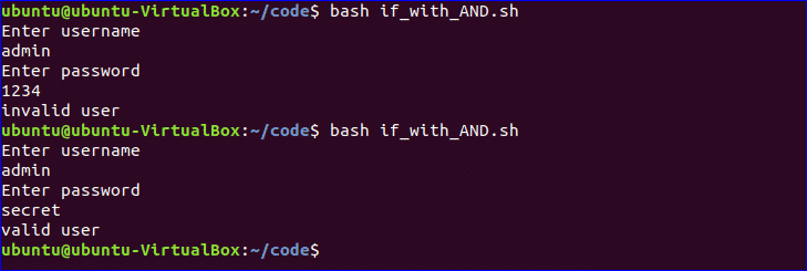 bash if_with_andsh